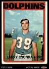 Larry Csonka Cards, Rookie Card and Autographed Memorabilia Guide 16