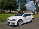 LARGER PHOTOS: White Volkswagen Scirocco R Line Blue Tech TD 2.0 Diesel Coupe