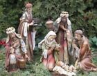 Nativity Set 20 inch Statues Ornate Old World Charm Durable Indoor Outdoor Resin