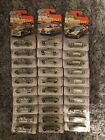 Lot Of 30 Matchbox 2019 50th Superfast Gold H Hornet Seagrave  BMW i8