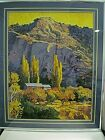 ROBERT DAUGHTERS Signed Numbered 57 250 Print Matted Glass Framed 40 x 33 1 2