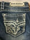 Rock Revival Womens Sundee Boot Cut Jeans EP94078217L Size 31 x 34