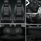 Luxury Car Seat Cover Protectorcushion Frontrear Full Set Pu Leather Interior
