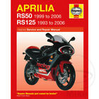 Aprilia RS 50 Extrema/Replica 2002 Haynes Service Repair Manual 4298