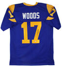 Robert Woods Authentic Signed Blue Pro Style Jersey Autographed BAS Witnessed