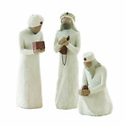Willow Tree The Three Wisemen sculpted hand painted nativity figures 3 piece