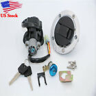 Ignition Switch Gas Cap Cover Lock Set Key For Suzuki SV650S 2003-2009 04 05 06