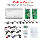 Carprog V10.93 Carprog V8.21 Perfect Version Full Authorization 21 Full Adapters
