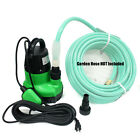 1 1 4HP Submersible Sump Pump Dirty Clear Water Pool Pond Drain w Hose Adapters