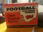vintage 1989 TOPPS FOOTBALL TRADED SERIES 132 CARD SET