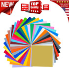 49 Pack Self Adhesive Vinyl Sheets Colors 12 x 12 Cricut Silhouette Cameo Decal
