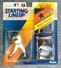 1992 Kenner Starting Line Up Cecil Fielder Detroit Tigers Action Figure & Cards