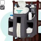 hiccapop Nursery Organizer and Baby Diaper Caddy  Hanging Diaper Organization S