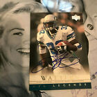 Ricky Watters auto 2009 autograph NFL Legends signed Upper Deck SP Authentic UD