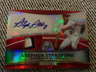 2010 Bowman Stephen Strasburg Red Auto Sells For $19,975 5