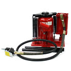 Low Profile 20 Ton Manual Air Hydraulic Bottle Jack 40000lb HEAVY DUTY Truck RV