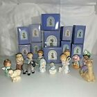 VINTAGE HEAVENLY BLESSINGS NATIVITY COLLECTION 1986 13 Piece MintWith Boxs