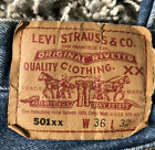 Vtg Levis Made In USA 36 X 32 501 XX 90s 80s measure 34x30