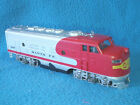 Bachmann HO Scale Santa Fe Diesel Engine 307 Runs Good #133
