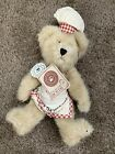 Boyd's Bear Plush Cookie Bear Child Baker Chef, With Tags 903009