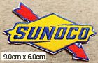 SUNOCO Oil Stations Motors Sport Patches Logo iron-sew,Decorations on Fabric