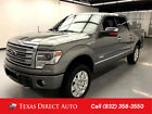 2013 Ford F-150 Platinum Styleside Texas Direct Auto 2013 Platinum Styleside Used Turbo 3.5L V6 24V Automatic 4WD