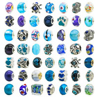 Lot Of Pandora Charms Assorted Crystal Rhinestone Beads Charm 50Pcs New