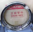 Genuine Kymco Hipster Zing 125 Rear Wheel Chrome Rim 42701-KKAK-90A Felge