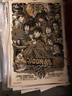 The Goonies Tyler Stout Gold Variant Signed Numbered Stamped Mondo artist