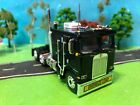 DCP 1 64 Mid Night Black Kenworth K 100 Cabover Flat Top Semi Tractor Custom
