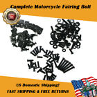 FMB Universal Black Fairing Bolt Fit for Yamaha YZF R6 R1 R25 R125 R3 T-MAX k0