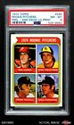 1974 Topps #599 Dave Freis LG Padres Phillies Giants Dodgers PSA 8 - NM MT