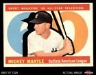 Comprehensive Guide to 1960s Mickey Mantle Cards 14