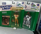 STARTING LINEUP SLU NFL Lot of 2 1989 Jerry Rice Tim Brown Openers But MOC