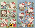Hello Kitty Stickers 2 Sheets Free Ship Sale LAST ONE