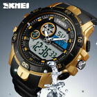 SKMEI Trendy Men Outdoor Sportuhr 2 Time 50m Wasserdichte Digitaluhr 1428 1F9A