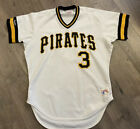 Phil Garner Pittsburgh Pirates Rawlings Authentic Jersey 44 L MLB Pullover