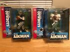 McFarlane NFL TROY AIKMAN Legends Series (Cowboys) Blue Jersey and White Jersey