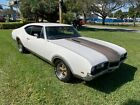 1968 Oldsmobile Cutlass CUTLASS 1968 OLDSMOBILE CUTLASS V8 350 ROCKET VERY CLEAN FL MUSCLE CAR NO RESERVE LOOK!