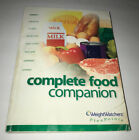 Pre Owned Weight Watchers Complete Food Companion Paper Back Book