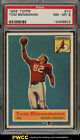 1956 Topps Football Tom Bienemann SHORT PRINT #10 PSA 8 NM-MT (PWCC)