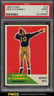 1960 Fleer Football Tom O'Connell #19 PSA 9 MINT (PWCC)