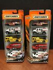 2010 Matchbox Fire 5 Pack Lot Of 2 Dela1391