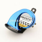 Blue Motorcycle Snail Loud Horn for Harley Electra Glide Ultra Classic FLHTCU