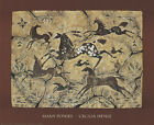 Many Ponies Art Print by Cecilia Henle Horses Native American