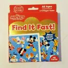 Mickey  Friends Find It Fast 48 Cards All Ages 1 4 Players