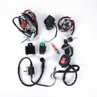 ATV Quad Wiring Harness CDI Stator 6 Coil Pole Ignition Set Kit For 50CC 125CC