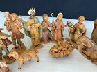 Vintage Fontanini Italy 20 pc Nativity Figures1983 Original  Editions