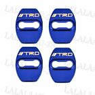 4pcs Trd Glossy Color Car Door Lock Protective Cover Case Badge Decal Sticker