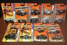 Matchbox Assorted Lot Of 9 Emergency Vehicles SWAT Police Park Ranger EM8066